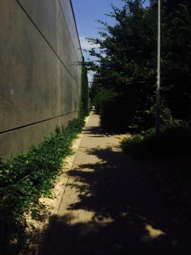 ulička za centrom