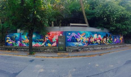 grafity, kalvaria