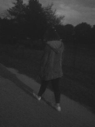 I walking